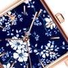 Dámské hodinky s páskem z nerezové oceli ve růžovozlaté barvě Emily Westwood Square