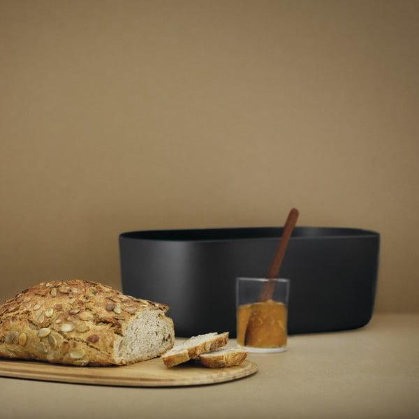 Chlebník Stelton Rig-Tig, černý