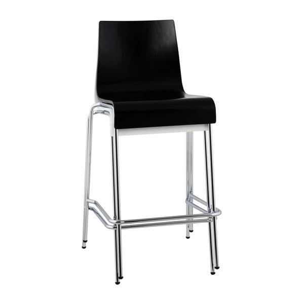 Černá barová židle Kokoon Cobe, výškasedu65cm