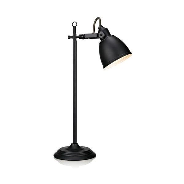 Černá stolní lampa Markslöjd Fjallbacka