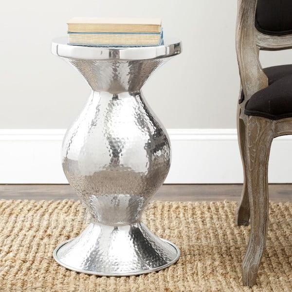 Odkládací stolek Mackenzie Silver