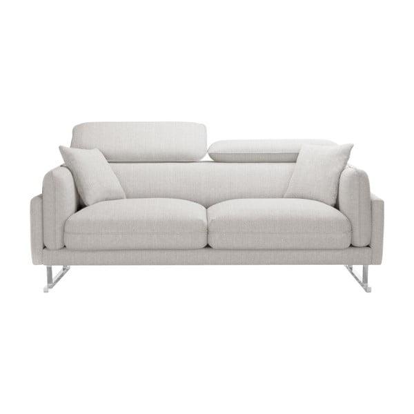 Canapea cu 2 locuri L'Officiel Gigi, crem