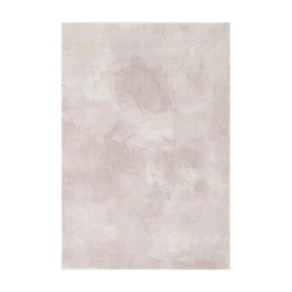 Covor Elle Decor Euphoria Matoury, 160 x 230 cm, roz crem