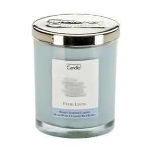 Aroma svíčka s vůní čerstvě vypraného prádla Copenhagen Candles  Fresh Linen, doba hoření 40 hodin
