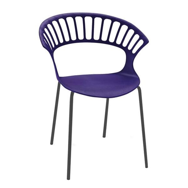Židle Tiara, violet