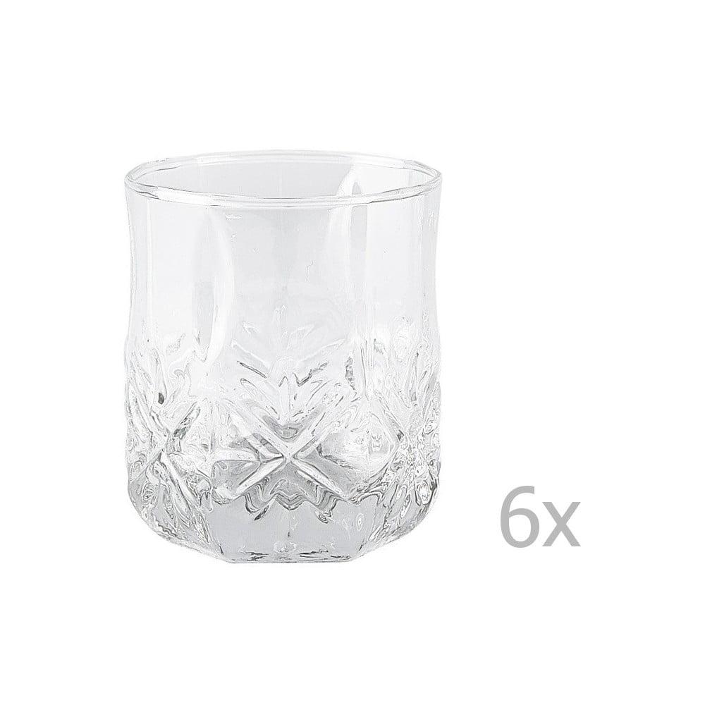 Sada 6 sklenic KJ Collection Glass, 300 ml