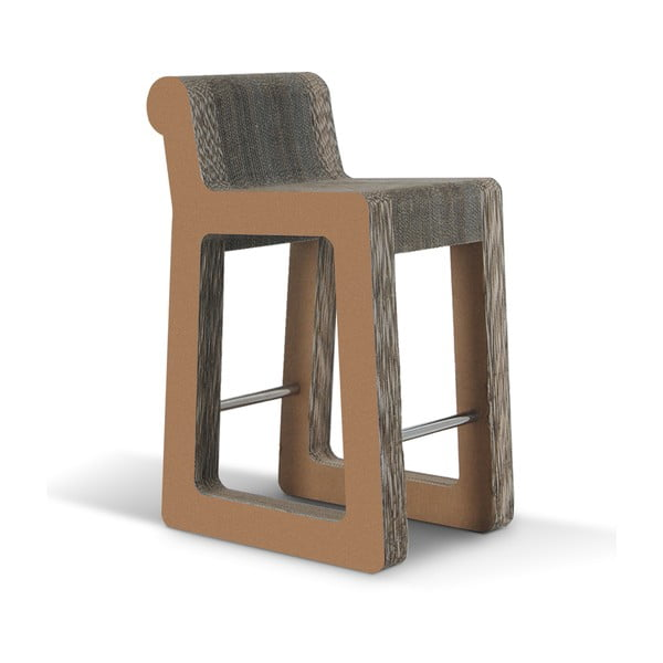 Barová kartonová židle Knob Stool