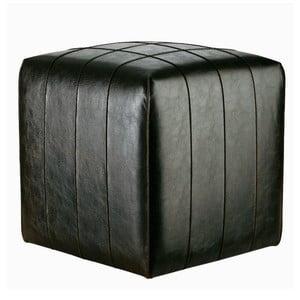 Sedací puf Bakero Power z umělé kůže, 40x40 cm