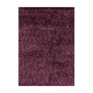 Fialový koberec s dlouhým vlasem Linie Design Sprinkle, 140x200cm