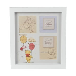 Fotorámeček na 3 fotografie Disney Magical Beginnings Collage Frame Pooh Heart