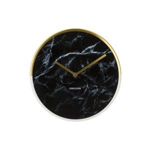 Hodiny Present Time Marble Delight Black