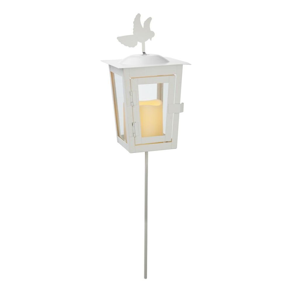 Bílá LED zahradní lucerna Best Season Serene Uno