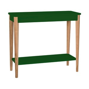 Tmavě zelený konzolový stolek Ragaba Ashme, šířka85cm