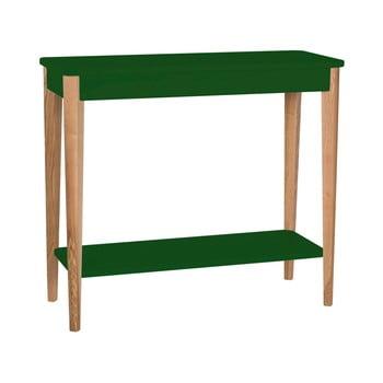Consolă Ragaba Ashme, lățime 85 cm, verde închis de la Ragaba