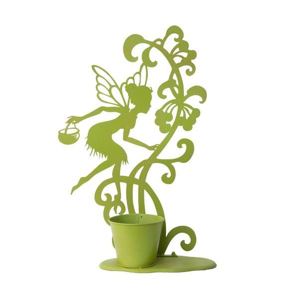 Dekorativní květináč Vasetto, zelený