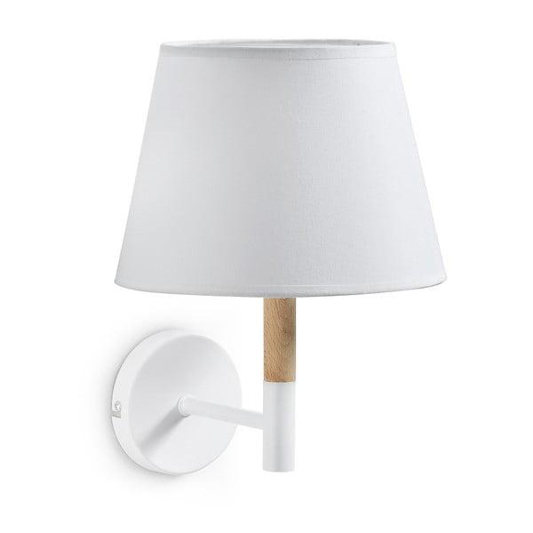 Bílá nástěnná lampa La Forma Moskov