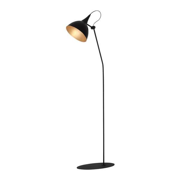 Czarna lampa stojąca lampa Glimte Sento Lento