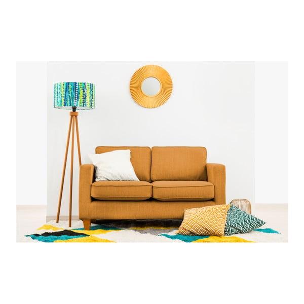 Canapea cu 2 locuri Vivonia Sorio, muștar