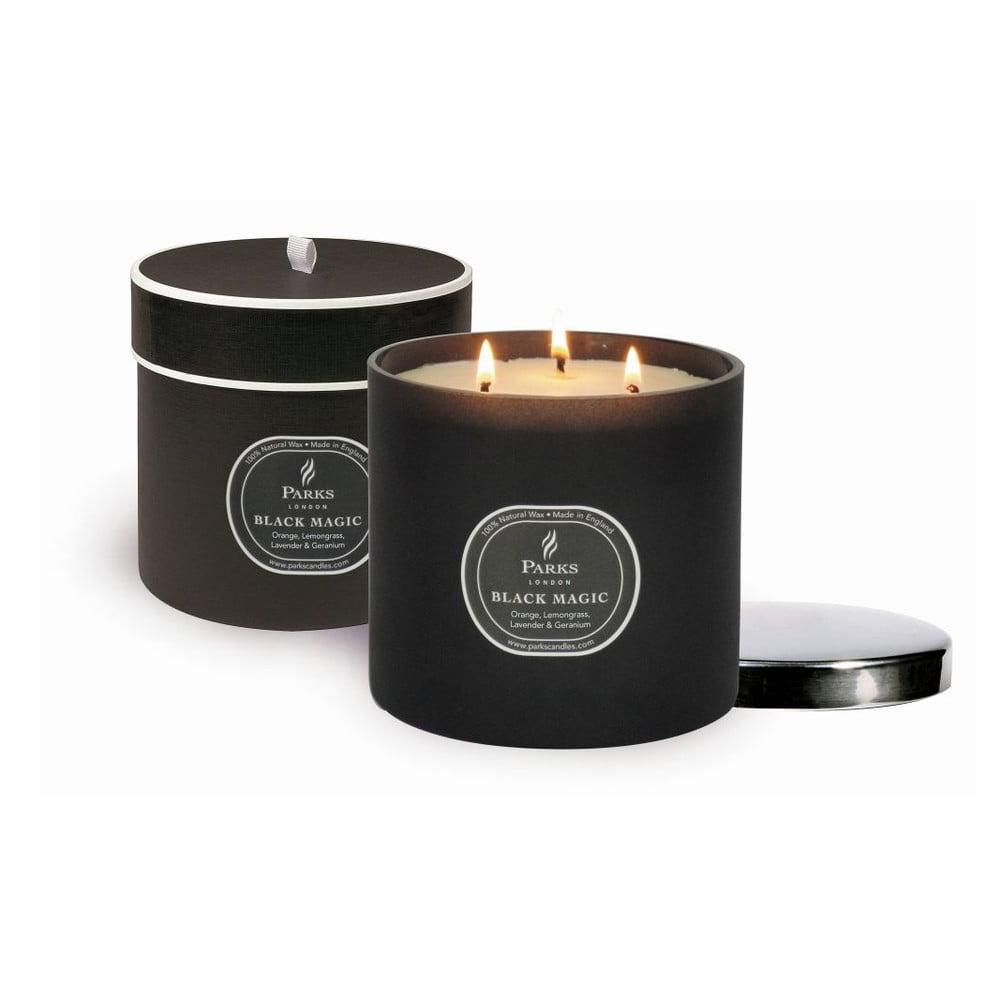 Svíčka Magic Candles, 80 hodin hoření, vůně pomeranče a citronové trávy