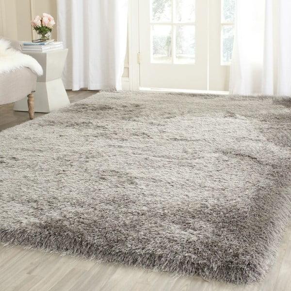 Koberec Edison Shag Grey, 91x152 cm