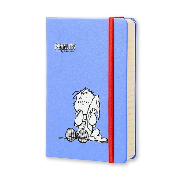 Denní diář Moleskine Peanuts, 9x14 cm