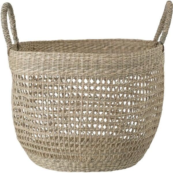 Koszyk z trawy morskiej Bloomingville Dago