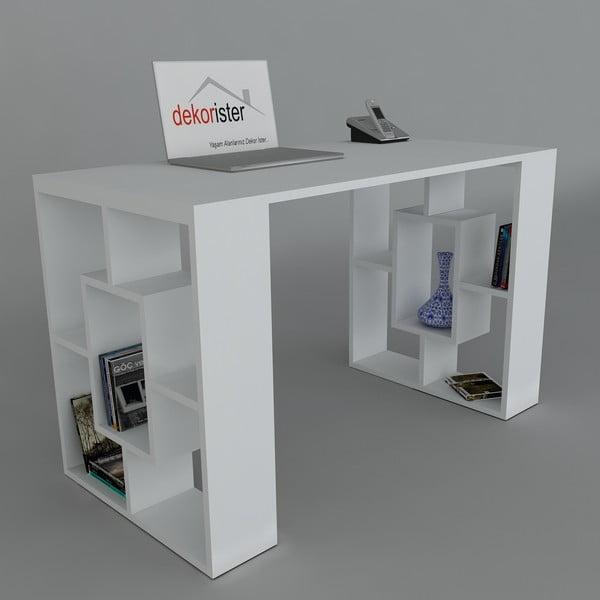 Pracovní stůl Valencia White, 60x120x73,8 cm