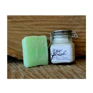 Dárková sada pleťový krém a mýdlo, zelený čaj