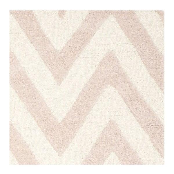 Vlněný koberec Stella Powder, 121x182 cm