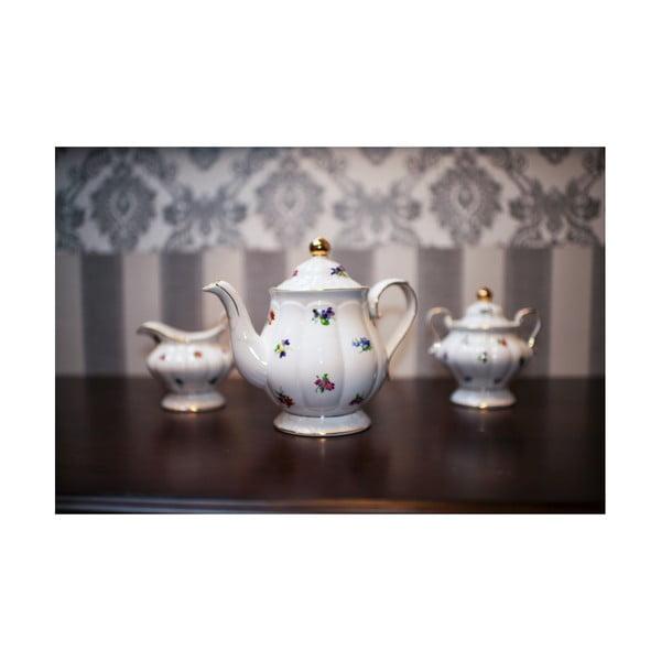 21dílná porcelánová sada Rococo