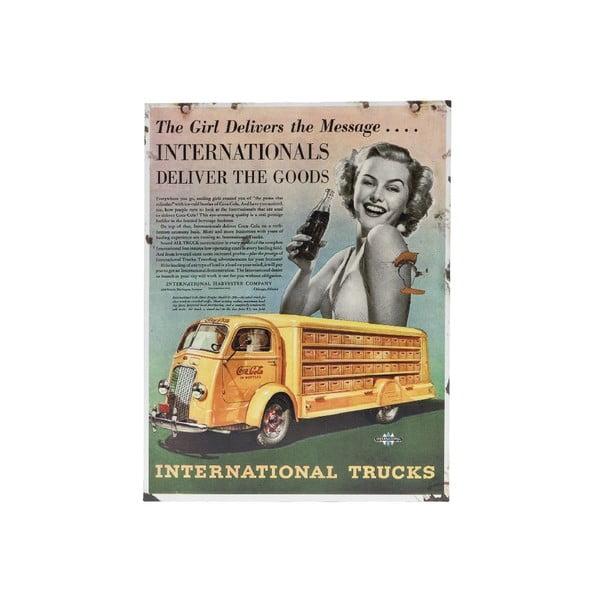 Cedule na stěnu Novita Intern Trucks