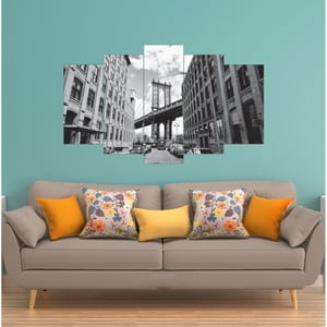 Vícedílný obraz La Maison Des Couleurs BrooklynBridge