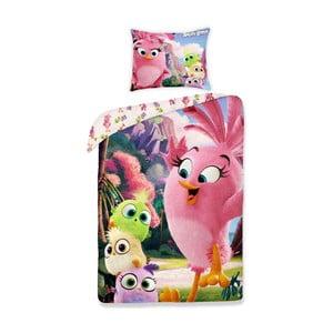 Dětské bavlněné povlečení Halantex Angry Birds, 140 x 200 cm