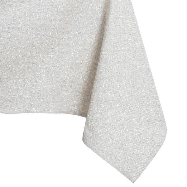 Kremowy obrus DecoKing Sparkle Cream, 140x300 cm