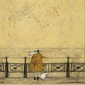 Obraz na plátně Promenáda od Sam Toft, 60x60 cm