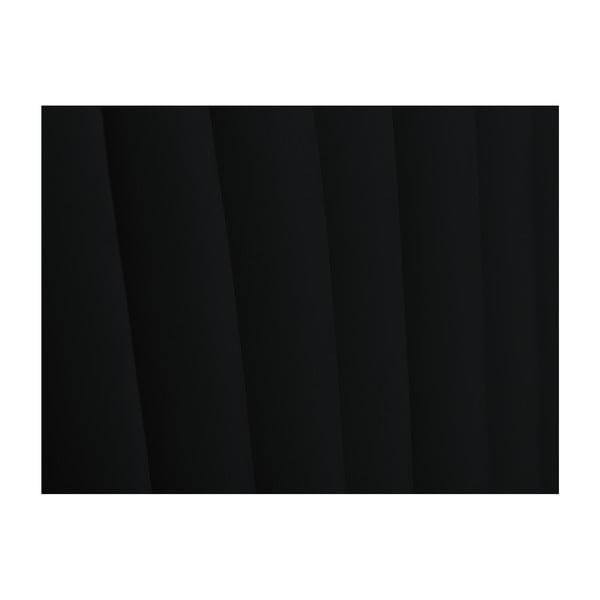 Černé čelo postele Cosmopolitan design NJ, 140x120cm