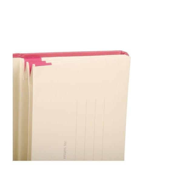 Růžové portfolio Moleskine XS