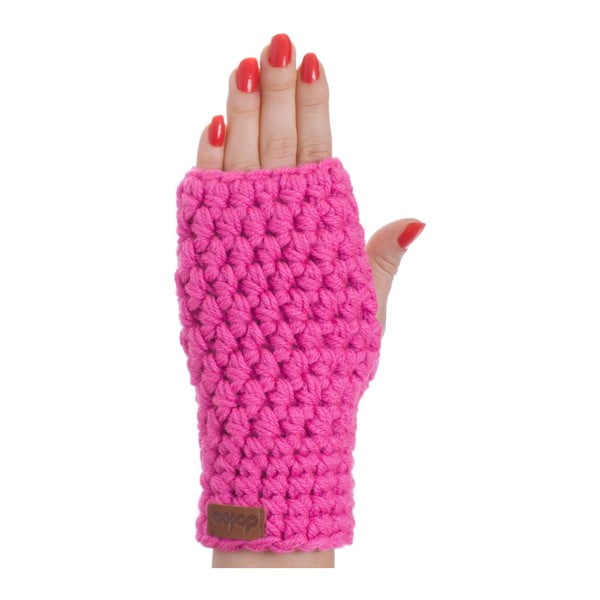 Mănuși tricotate manual DOKE Peony