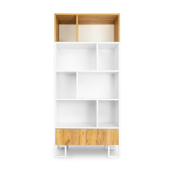 Knihovna z dubového dřeva SKANDICA Hesse