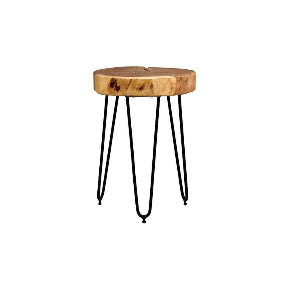 Stolička s deskou z akáciového dřeva LABEL51 Bo