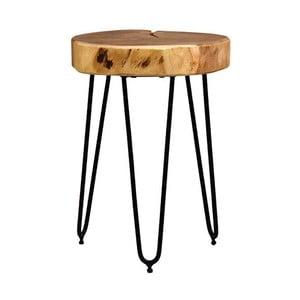 Măsuță cu blat din lemn de salcâm LABEL51 Bo