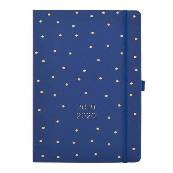 Modrý denní diář 2019/20 Busy B Diary, 432 stran