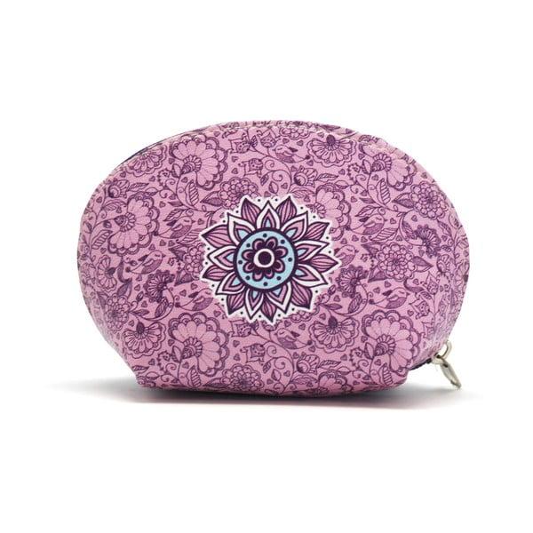 Portmonetka na drobne Makenotes Purple&Pale