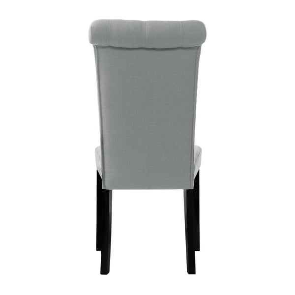 Šedá židle L'Officiel Taylor