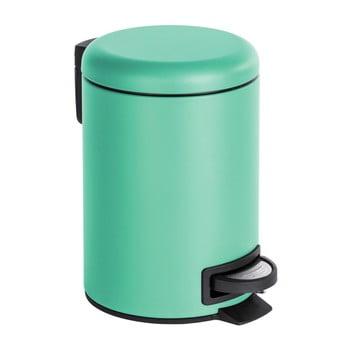 Coș de gunoi cu pedală Wenko Leman, 3 l, verde mentă imagine
