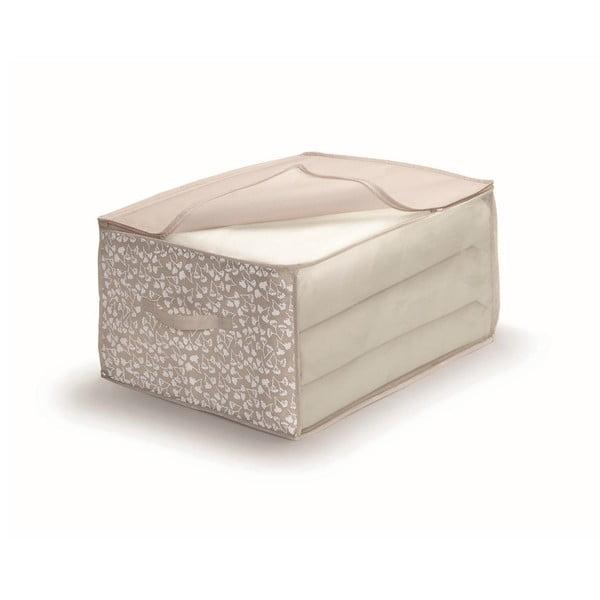 Hnědý uložný box na přikrývky Cosatto Bocquet,šířka60cm