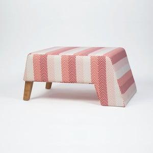 Podnožka s dřevěnými nohami Kate Songe