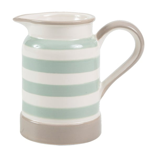Džbánek T&G Woodware Mint Stripe, 275 ml