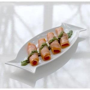 Porcelánový servírovací tácek Steel Function Fish