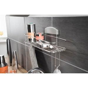 Stojan do koupelny bez nutnosti vrtání Compactor Gel, 35x12 cm